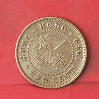 HONG KONG 10 CENTS 1949 -    KM# 25 - (Nº37674) - Hongkong