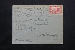 ALGÉRIE - Enveloppe De Oran Pour La France En 1937 - L 71952 - Lettres & Documents