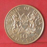 KENIA 10 CENTS 1971 -    KM# 11 - (Nº37686) - Kenya