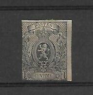 België  N° 22 Scharnier Cote 360 Euro - 1866-1867 Coat Of Arms