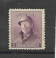 België  N° 176  Zonder Gom - 1919-1920 Roi Casqué