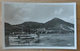 Wien Kahlenbergerdorf Gegen Kahlenberg Und Leopoldsberg Dampfer Donau - Other