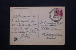 ALLEMAGNE - Affranchissement Occupation Française En 1947 Sur Cp , Oblitération Temporaire De Schönwald - L 71974 - Zona Francesa