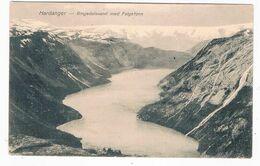 SC-2177   HARDANGER : Ringedalsvand Med Folgefonn - Norway