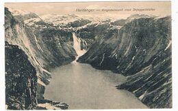 SC-2179   HARDANGER : Ringedalsvand Med Skjeggedalsfos - Norway