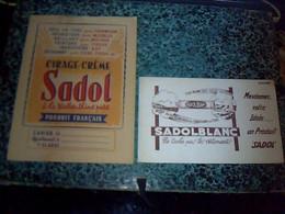 Vieux Papier Protège Cahier Cirage - Créme  Sadol à La Térébenthine - Blotters