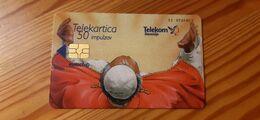 Phonecard Slovenia - Pope John Paul II. - Slovenia
