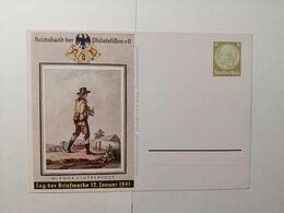 Deutsches Reich  Postkarte Tag Der Briefmarke 1941 - Germany