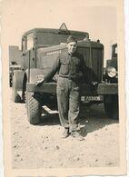 Photo (6,5 Cm X 9 Cm) : Matériel Militaire - Camion HANOMAG SS 160 NH 4X2  (BP) - Krieg, Militär