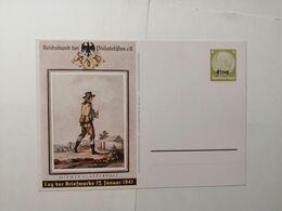 Deutsches Reich  Postkarte Tag Der Briefmarke 1941 Elsass - Germany