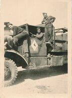 Photo (6,5 Cm X 9 Cm) : Matériel Militaire - Camion Brokway (1945-1950) - Insigne 5DB (BP) - Krieg, Militär