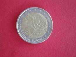 2 Euros Italie 2005 Anniversaire De La Constitution Européenne - Italia