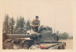 Photo (9 Cm X 12,5 Cm) : Matériel Militaire - Blindé EBR PANHARD (BP) - Krieg, Militär