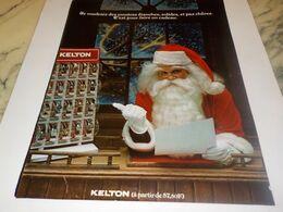 ANCIENNE PUBLICITE  MONTRE SOLIDE ETANCHE ET PAS CHERE  KELTON  1976 - Juwelen & Horloges