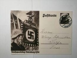 Deutsches Reich  Postkarte 1934 - Allemagne