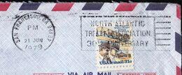USA United States San Francisco 1979 / North Atlantic Treaty Association 30th Anniversary / NATO / Machine Stamp - NATO