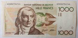 Belgique, 1000 Francs, Type André Ernest Modeste Gretry, Non Daté - 1000 Francs