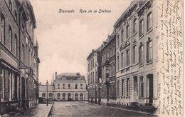 Dixmude Stationstraat Verstuurd 1906 Perfecte Staat - Diksmuide