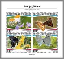 NIGER 2020 MNH Butterflies Schmetterlinge Papillons M/S - OFFICIAL ISSUE - DHQ2036 - Butterflies