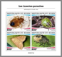 NIGER 2020 MNH Insects-parasites Insekten Parasiten Insectes-parasites M/S - OFFICIAL ISSUE - DHQ2036 - Other