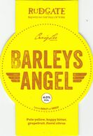 RUDGATE BREWERY  (YORK, ENGLAND) - BARLEY'S ANGEL - PUMP CLIP FRONT - Uithangborden