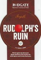 RUDGATE BREWERY  (YORK, ENGLAND) - RUDOLPH'S RUIN - PUMP CLIP FRONT - Uithangborden