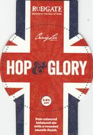 RUDGATE BREWERY  (YORK, ENGLAND) - HOP & GLORY - PUMP CLIP FRONT - Uithangborden