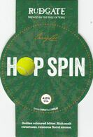 RUDGATE BREWERY  (YORK, ENGLAND) - HOP SPIN - PUMP CLIP FRONT - Uithangborden