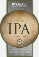 RUDGATE BREWERY  (YORK, ENGLAND) - IPA INDIA PALE ALE - PUMP CLIP FRONT - Uithangborden