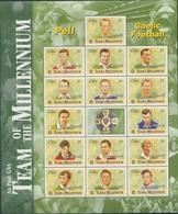 Irland 1999 Millennium Gaelic Football 1150/64 ZD- Bogen Postfrisch (C95436) - Ungebraucht