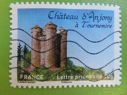 Timbre France YT 718 AA - Châteaux Et Demeures Historiques - Château D'Anjony à Tournemire - 2012 - Adhesive Stamps