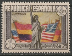 Spain 1938 Sc 585 Ed 763 MH - Ungebraucht