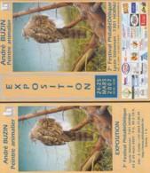 AB135 To 145 - Diverses Brochures - 1985-.. Pájaros (Buzin)