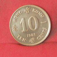 HONG KONG 10 CENTS 1983 -    KM# 49 - (Nº37703) - Hongkong