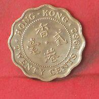 HONG KONG 20 CENTS 1982 -    KM# 36 - (Nº37705) - Hongkong