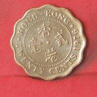 HONG KONG 20 CENTS 1976 -    KM# 36 - (Nº37707) - Hongkong
