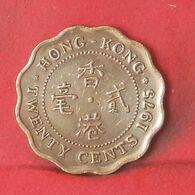 HONG KONG 20 CENTS 1975 -    KM# 36 - (Nº37710) - Hongkong