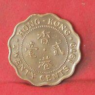 HONG KONG 20 CENTS 1979 -    KM# 36 - (Nº37711) - Hongkong