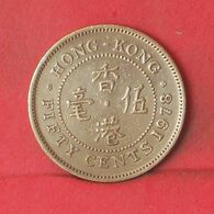 HONG KONG 50 CENTS 1978 -    KM# 41 - (Nº37715) - Hongkong