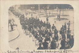 Soissons - Défilé Militaire - Musique - Carte Photo - Soissons