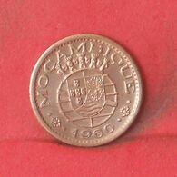 MOZAMBIQUE 10 CENTAVOS 1960 -    KM# 83 - (Nº37720) - Mozambique