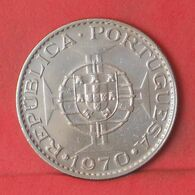 TIMOR 10 ESCUDOS 1970 -    KM# 22 - (Nº37726) - Timor