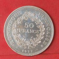 FRANCE 50 FRANCS 1977 - ***SILVER***   KM# 941,1 - (Nº37729) - Francia