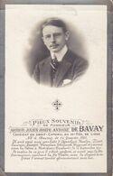 14-18 Arthur De BAVAY 12 Septembre 1914 ROTSELAAR Caporal 10e De Ligne Batailles Aarschot Haelen DP Foto ZEMST LEUVEN - Obituary Notices