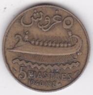 ETAT DU GRAND LIBAN. 5 PIASTRES 1940 - Libano