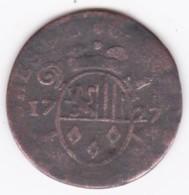 Liège 1 Liard 1727  Georges-Louis De Berghes, KM# 134 - Belgique