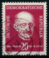 DDR 1958 Nr 627 Gestempelt X8BBEEE - [6] República Democrática