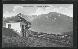 AK Bad Reichenhall, Endstation Der Bergbahn - Schienenverkehr