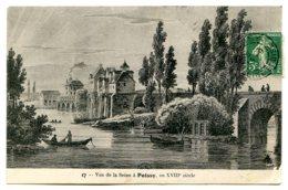 78300 POISSY - D'après Une Gravure - Vue De La Seine Au XVIIIe Siècle - édition Abeille - Poissy