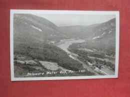RPPC  Delaware Water Gap       Pennsylvania       Ref 4344 - Vereinigte Staaten